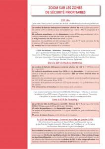 ARGUMENTAIRE - BILAN DE LA DELINQUANCE 2015-2